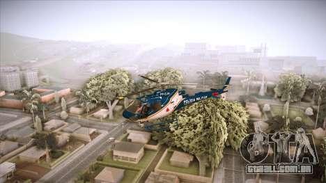 Pegasus 11 PMMG para GTA San Andreas traseira esquerda vista