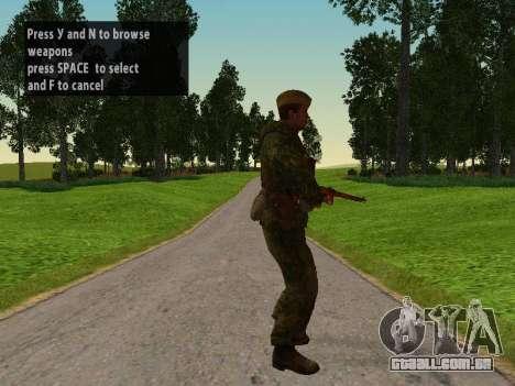 Os soldados do exército vermelho para GTA San Andreas