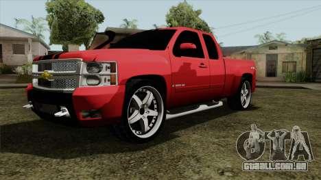 Chevrolet Silverado Tuning para GTA San Andreas