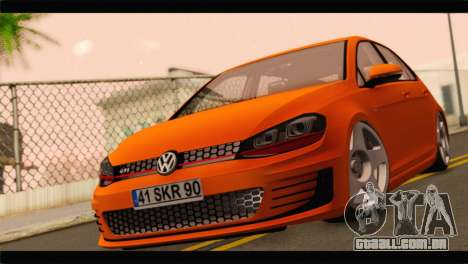 Volkswagen Golf GTI 2014 para GTA San Andreas