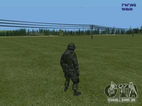 SWAT para GTA San Andreas sexta tela