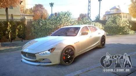 Maserati Ghibli 2014 v1.0 para GTA 4