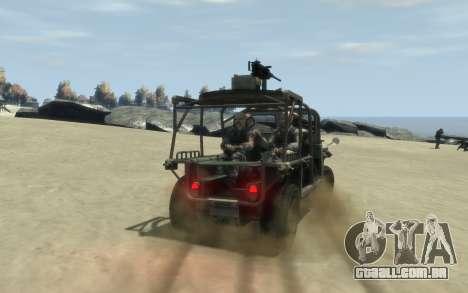 M1161 Growler para GTA 4 esquerda vista