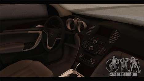 Opel Insignia Wagon para GTA San Andreas vista direita