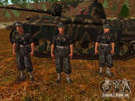 Alemão comandante de tanque para GTA San Andreas segunda tela