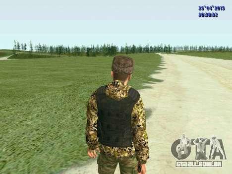 Lutador RPA para GTA San Andreas por diante tela