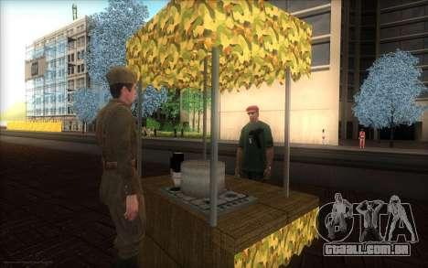 O monumento para o Dia da Vitória para GTA San Andreas segunda tela