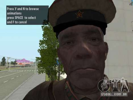 O Comissário De Markov para GTA San Andreas sexta tela
