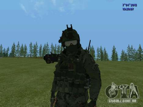SWAT para GTA San Andreas nono tela