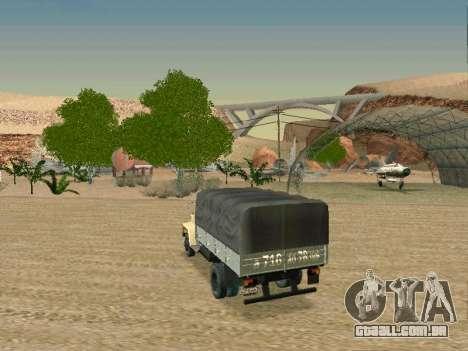 GAZ 3309 para GTA San Andreas vista superior