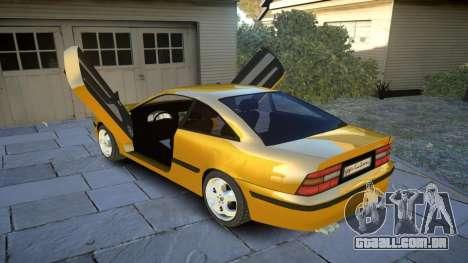 Opel Calibra v2 para GTA 4 vista lateral