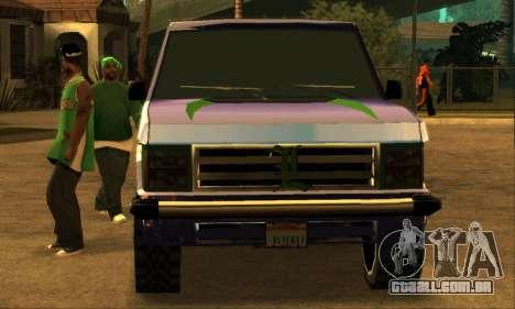 Luni Huntley para as rodas de GTA San Andreas