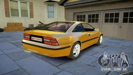 Opel Calibra v2 para GTA 4 vista de volta