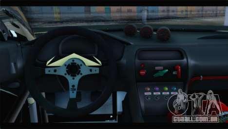 Nissan Silvia S14 Zenki Falken para GTA San Andreas traseira esquerda vista