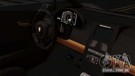 GTA 5 Pegassi Zentorno SA Style para GTA San Andreas vista direita