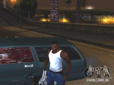 Sangue nos vidros do carro para GTA San Andreas segunda tela