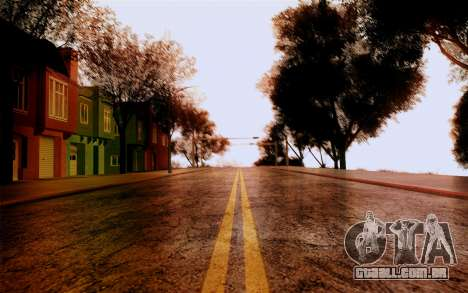DirectX Test 1 - ReMastered para GTA San Andreas segunda tela