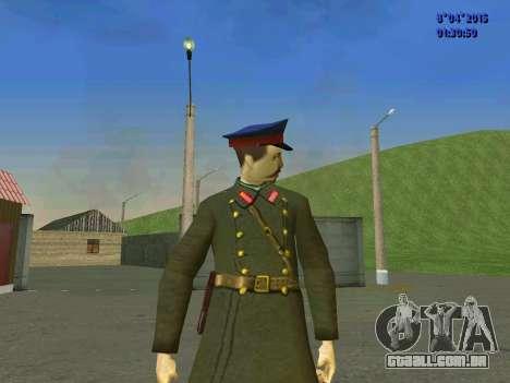 Felix Edmundovich Dzerzhinsky para GTA San Andreas terceira tela