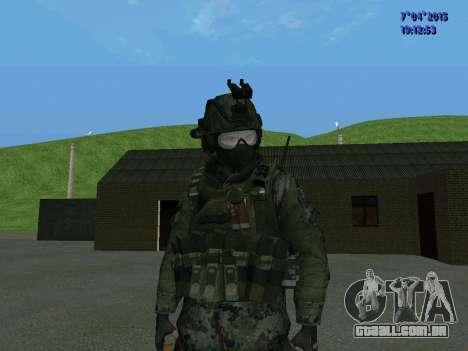 SWAT para GTA San Andreas segunda tela