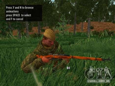 Os soldados do exército vermelho para GTA San Andreas twelth tela