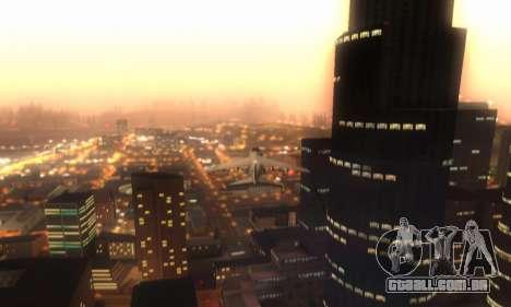 Project 2dfx 2.1 para GTA San Andreas por diante tela