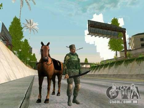 Shashka Cossaco para GTA San Andreas