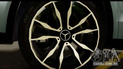 Mercedes-Benz GLA220 2014 para GTA San Andreas vista traseira