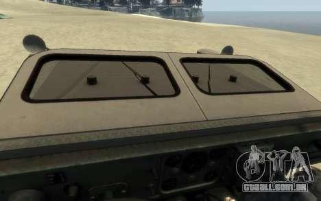 M1161 Growler para GTA 4 vista direita