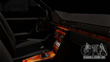 Mercedes-Benz W124 para GTA San Andreas vista direita