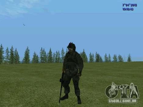 SWAT para GTA San Andreas sétima tela