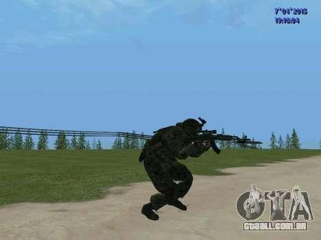 SWAT para GTA San Andreas quinto tela