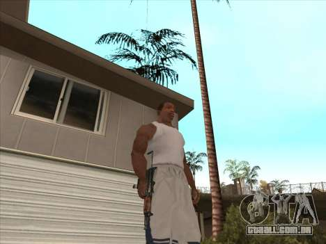 Russo submachine guns para GTA San Andreas sexta tela