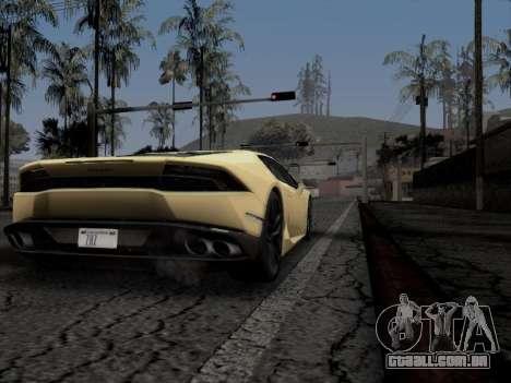 End Of Times ENB para GTA San Andreas terceira tela