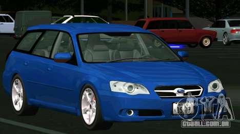 Subaru Legacy Touring Wagon 2003 para GTA San Andreas