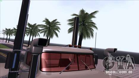 Mack RS700 Custom para GTA San Andreas vista superior