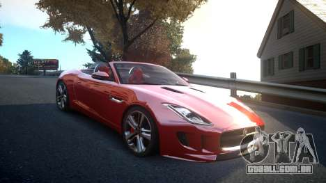 Jaguar F-Type v1.6 Release [EPM] para GTA 4 vista interior