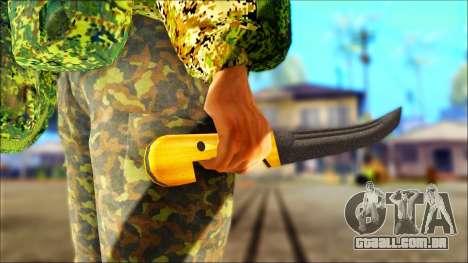 Shashka Cossaco para GTA San Andreas terceira tela