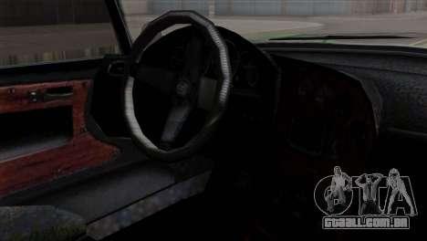 GTA 5 Grotti Stinger v2 SA Mobile para GTA San Andreas vista direita