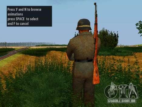 Soldados alemães para GTA San Andreas quinto tela