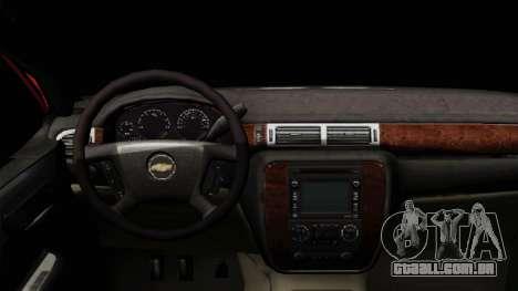 Chevrolet Silverado Tuning para GTA San Andreas vista direita