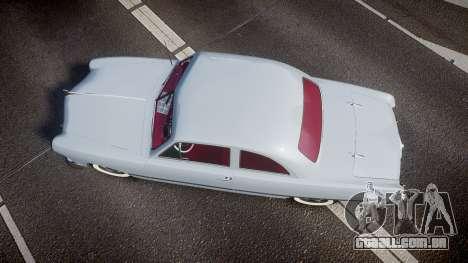 Ford Custom Club 1949 v2.2 para GTA 4 vista direita