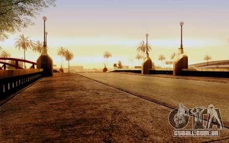 DirectX Test 1 - ReMastered para GTA San Andreas