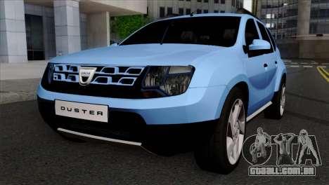 Dacia Duster 2014 para GTA San Andreas