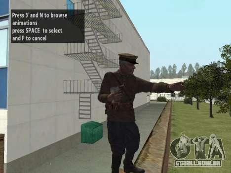 O Comissário De Markov para GTA San Andreas terceira tela