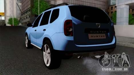 Dacia Duster 2014 para GTA San Andreas esquerda vista