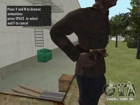 O Comissário De Markov para GTA San Andreas por diante tela