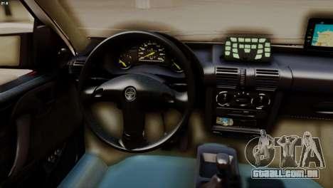 Chevrolet Corsa 2000 PMESP para GTA San Andreas vista direita