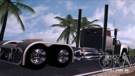 Mack RS700 Custom para GTA San Andreas traseira esquerda vista