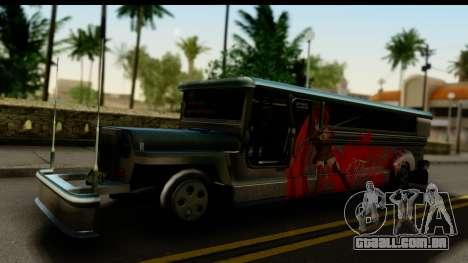 Patok Jeepney para GTA San Andreas