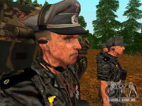 Alemão comandante de tanque para GTA San Andreas terceira tela